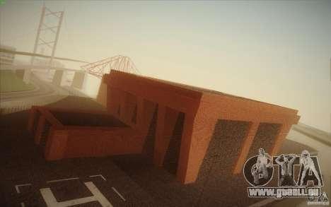 New SF Army Base v1.0 pour GTA San Andreas cinquième écran