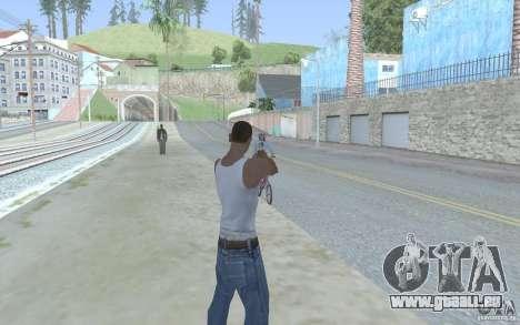 Blaue Augen für GTA San Andreas her Screenshot
