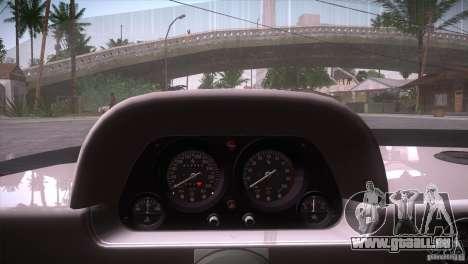 Ferrari F40 für GTA San Andreas Unteransicht