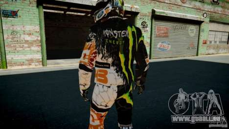 Ken Block Gymkhana 5 Clothes (Unofficial DC) für GTA 4 neunten Screenshot