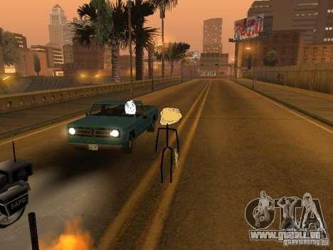 Meme Ivasion Mod für GTA San Andreas achten Screenshot