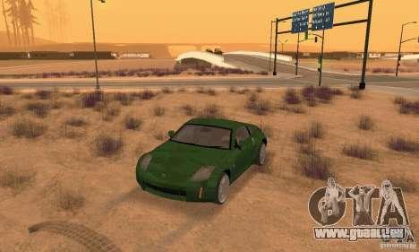 Nissan 350Z stock pour GTA San Andreas