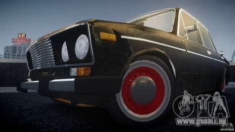 Vaz 2106 Rat look pour GTA 4 Vue arrière de la gauche