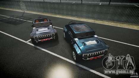 Hummer HX für GTA 4 Unteransicht