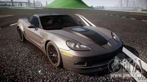 Chevrolet Corvette ZR1 2009 v1.2 für GTA 4 Innenansicht