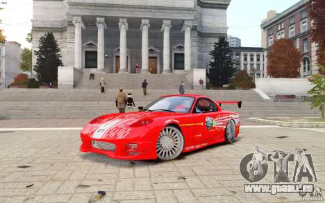 Mazda RX-7 Fast and Furious pour GTA 4