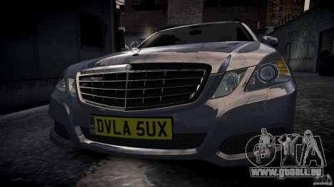 Mercedes E-Klasse-Wagen für GTA 4 hinten links Ansicht