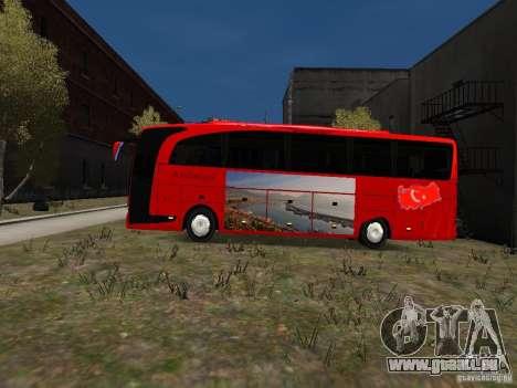 Mercedes Travego für GTA 4 linke Ansicht