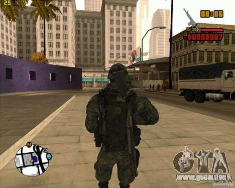Ranger pour GTA San Andreas deuxième écran