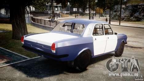 Volga gaz-2410 1989 v2.1 pour GTA 4 est un côté