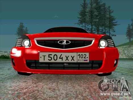 Lada Priora Coupe für GTA San Andreas Seitenansicht