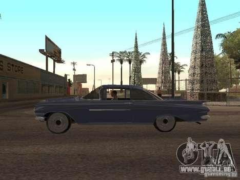 Chevrolet Biscayne 1959 pour GTA San Andreas vue intérieure