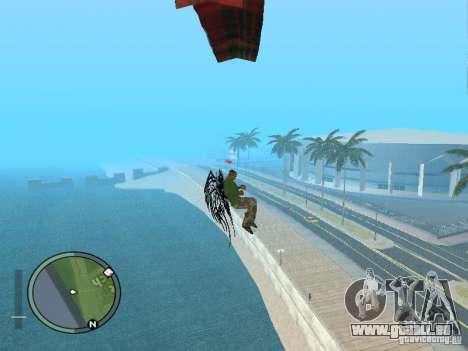 Flügel-Wings für GTA San Andreas fünften Screenshot