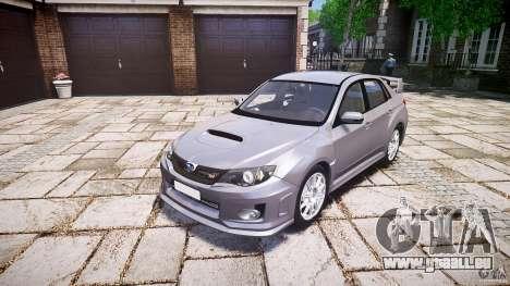 Subaru Impreza WRX 2011 pour GTA 4