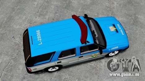 Chevrolet Blazer 2010 PMERJ ELS pour GTA 4 est un droit