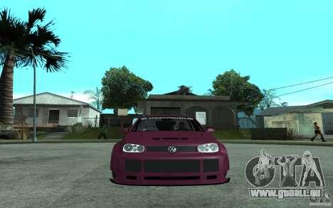Volkswagen Golf GTI 4 Tuning für GTA San Andreas rechten Ansicht