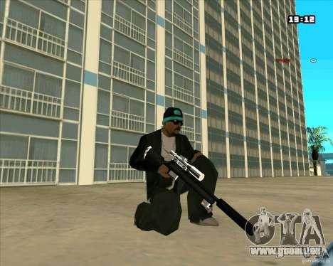 Chrome Weapon Pack pour GTA San Andreas sixième écran