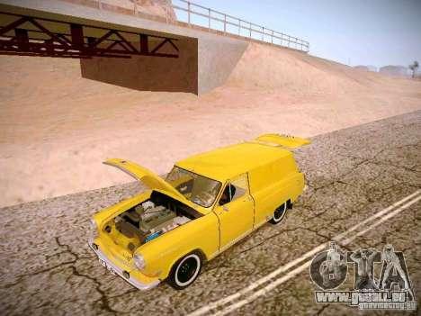 GAS 22 b Van für GTA San Andreas Seitenansicht