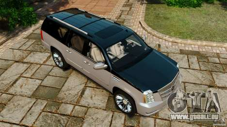 Cadillac Escalade ESV 2012 für GTA 4 Innen