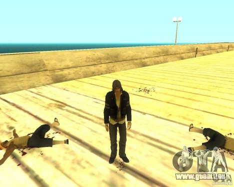 Alex Mercer ORIGINAL pour GTA San Andreas troisième écran
