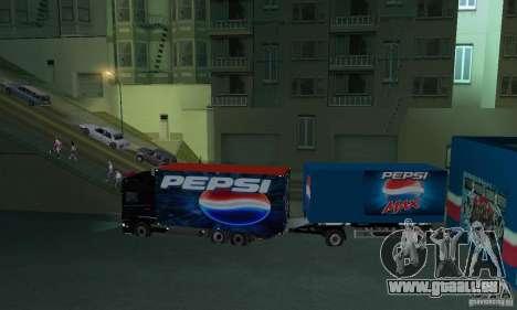 Pepsi Market and Pepsi Truck pour GTA San Andreas quatrième écran
