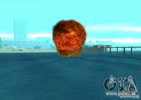 Nouveaux effets d'explosions pour GTA San Andreas