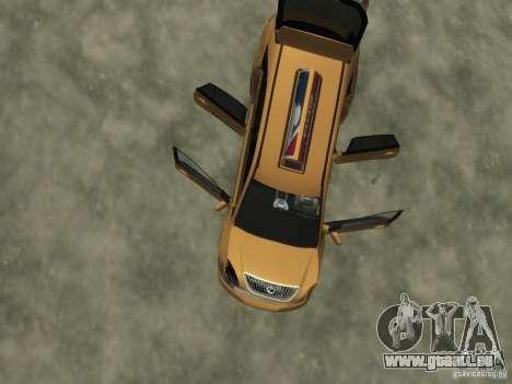Lexus RX400 New York Taxi pour GTA 4 roues