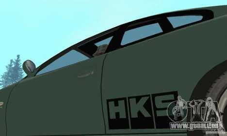 Vauxhall Monaro VXR Open SKY 2004 pour GTA San Andreas vue de côté