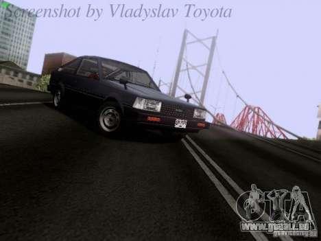 Toyota Corolla TE71 Coupe für GTA San Andreas