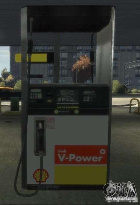 Shell Petrol Station pour GTA 4 huitième écran