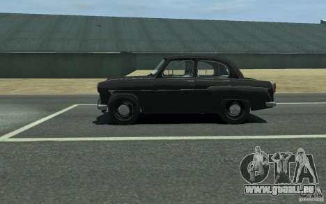Moskvitch 407 v2.0 pour GTA 4 est une gauche
