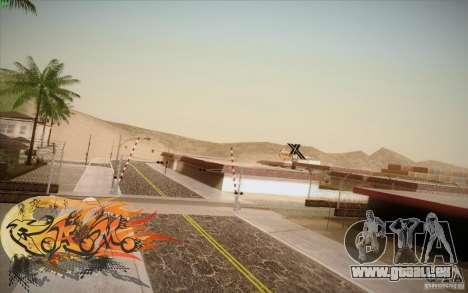 New Roads Las Venturas v1.0 pour GTA San Andreas cinquième écran
