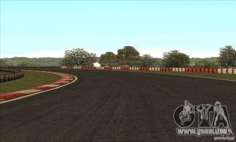 Piste GOKART Route 2 pour GTA San Andreas dixième écran