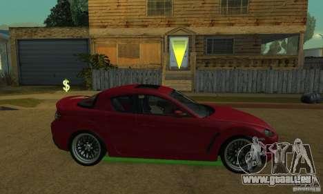 Les néons verts pour GTA San Andreas
