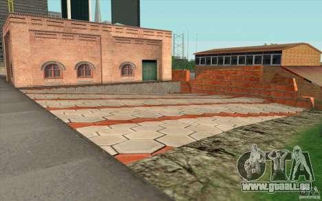 Caserne de pompiers pour GTA San Andreas troisième écran