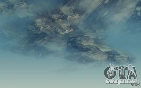 Real Sky Efects für GTA San Andreas dritten Screenshot
