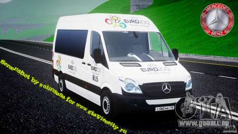 Mercedes-Benz Sprinter Euro 2012 pour GTA 4