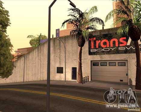 Un garage Wang Cars pour GTA San Andreas quatrième écran
