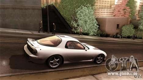 Mazda RX-7 FD 1991 pour GTA San Andreas vue de droite