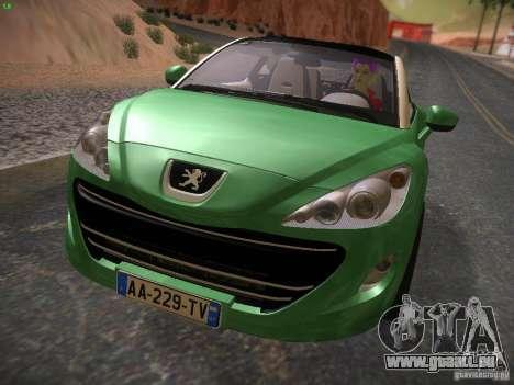 Peugeot RCZ 2010 für GTA San Andreas