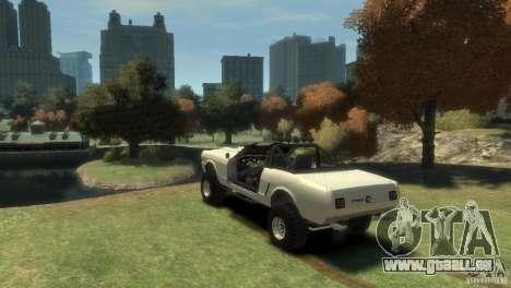 Ford Mustang Sandroadster 1.0 für GTA 4 linke Ansicht
