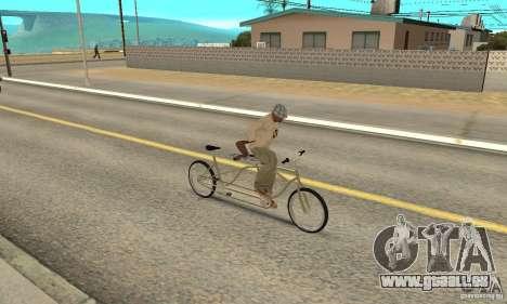 double classic MT Bike pour GTA San Andreas vue de droite