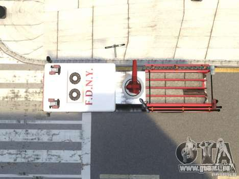 Fire Truck FDNY für GTA 4 Innenansicht
