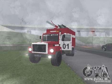 Feu GAZ 3309 pour GTA San Andreas