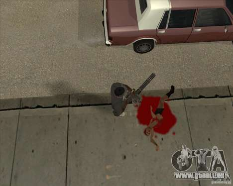 Real Ragdoll Mod Update 02.11.11 für GTA San Andreas her Screenshot