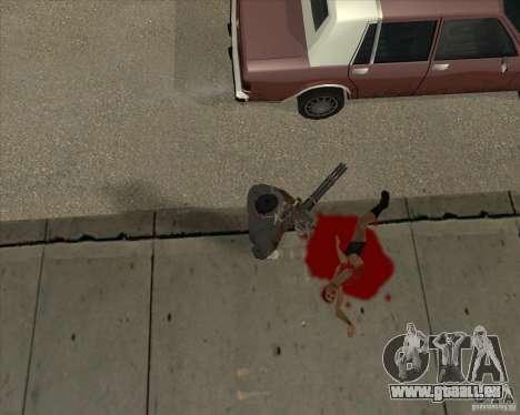 Real Ragdoll Mod Update 02.11.11 für GTA San Andreas her Screenshot