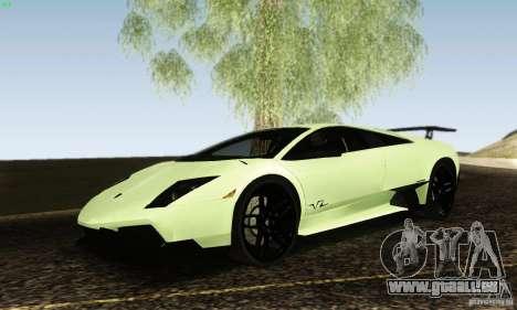 Lamborghini Murcielago LP 670-4 SV pour GTA San Andreas vue de droite