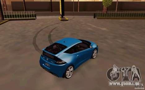 Honda CR-Z 2010 V3.0 für GTA San Andreas rechten Ansicht