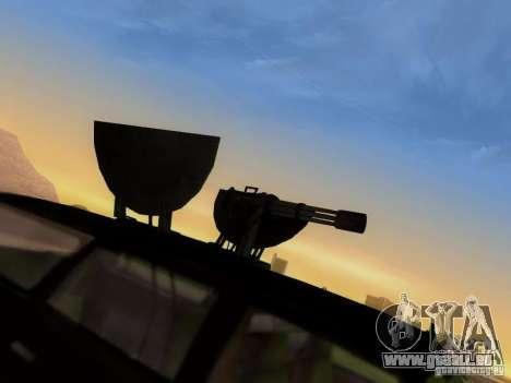 Suv Call Of Duty Modern Warfare 3 für GTA San Andreas Seitenansicht
