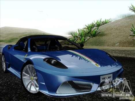 Ferrari F430 Scuderia Spider 16M pour GTA San Andreas moteur